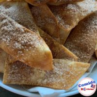 crustos o cinnamon sugar tortillas