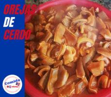 receta orejas de cerdo puertorriqueñas